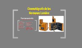Cinematógrafo Lumiére