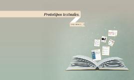 Prototipos textuales.