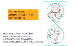 Copy of TECNICAS DE ADMINISTRACION DE INVENTARIOS