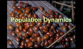 Env. Science: Population Dynamics