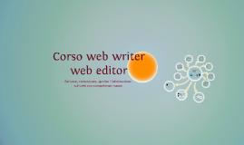 Copy of Copy of Corso web writer web editor