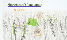Copy of Shakespeare's Language