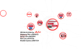 PECHA KUCHA for Air Asia