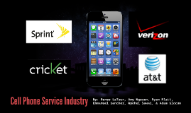 Cell Phone Provider Industry