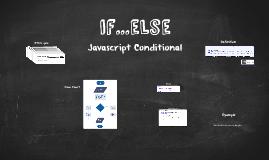 Javascript - if...else