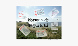 Copy of Normas de seguridad