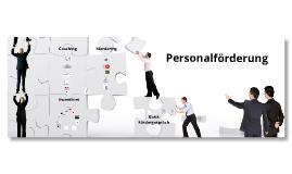 Personalförderung