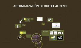 AUTOMATIZACIÓN DE BUFFET AL PESO