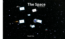 Copie de The Space - Prezi Template