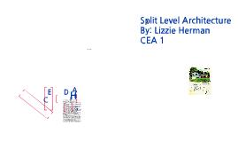 Split Level style Architecture