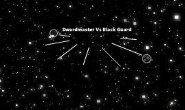 Warhammer age of reckoning Swordmaster of Hoeth vs the Dark elf Black Guard