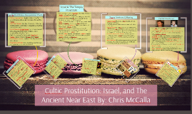 Cultic Prostitution: Israel, Egypt and the Ancient Near East