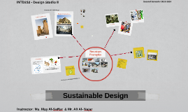 INTD 210 - Introduction to sustainable Design