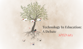 Technology Debate, SPED 683
