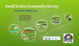 Small Grains Commodity Survey