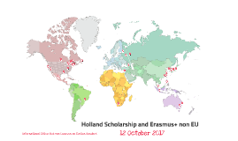 Holland Scholarship and Erasmus+ outside Europe