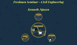 Freshmen Seminar - Civil Engineering