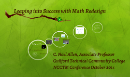 Copy of Leaping into Success with Math Redesign