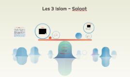 Copy of Les 3 - Salaat