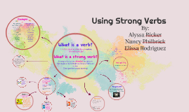 Copy of Using Strong Verbs