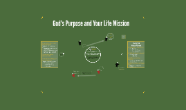 God's Purpose and Your Life Mission