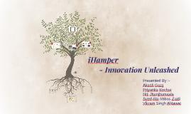 Product Development - iHamper (Innovation Unleashed)