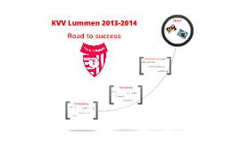 KVV Lummen 2013-2014