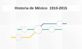 Historia de México  1910-2015