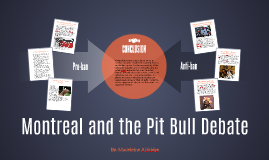 Montreal and the Pitbull Debate