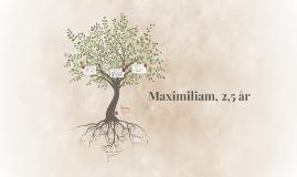 Maximiliam, 2,5 år