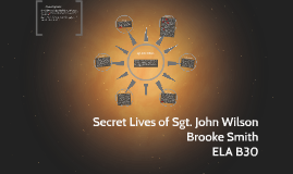 secret lives of sgt john wilson