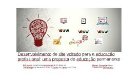 Desenvolvimento de site voltado para a educação profissional