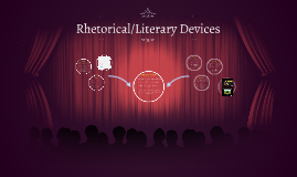 Rhetorical/Literary Devices
