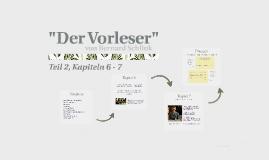 """""""Der Vorleser"""""""