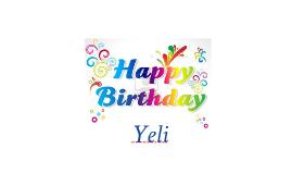 happy birthday yeli-2016