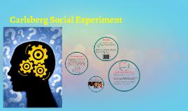 Copy of Carlsberg Social Experiment