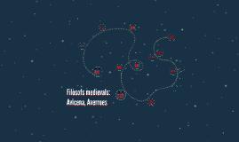 Filòsofs medievals: Avicena, Averroes