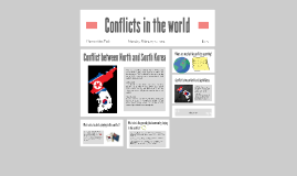 Conflicts in the world