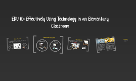 EDU 110: Effectively Using Technology in an Elementary Class
