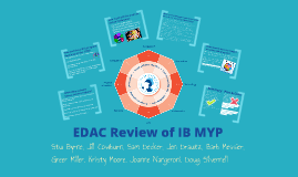 EDAC Review of IB MYP