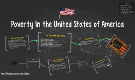 Poverty In the United States of America