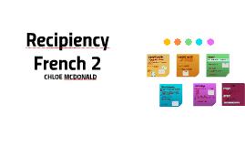 RecipiencyFrench 2