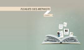 FLOHLIED DES MEPHISTO