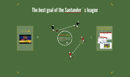The best goal of the Santander´s league