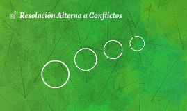 Resolución Alterna a Conflictos