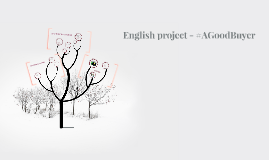 English project - #AGoodBuyer