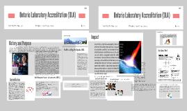 Copy of Copy of Ontario Laboratory Accreditation (OLA)