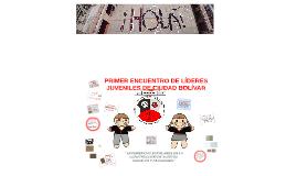 PRIMER ENCUENTRO DE LÍDERES JUVENILES DE CIUDAD BOLÍVAR