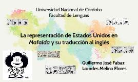 La representación de Estados Unidos en Mafalda y su traducci