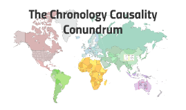 The Chronology Causality Conundrum